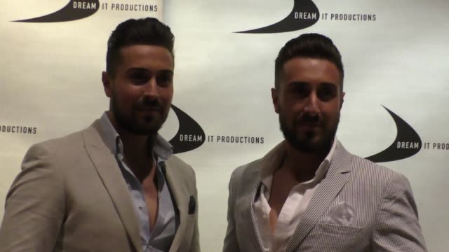 the alberti twins at the till we meet again premiere at the egyptian theatre in hollywood in celebrity sightings in los angeles - grauman's egyptian theatre stock videos & royalty-free footage