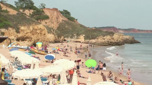 The Algarve region along the southern fringe of Portugal has seen an influx of tourists from Europe as holidaymakers steer clear of former popular...