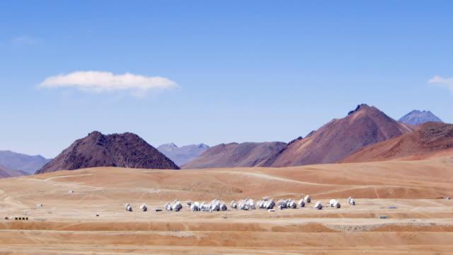 MS The ALMA antenna array at Chajnantor / San Pedro de Atacama, Chile