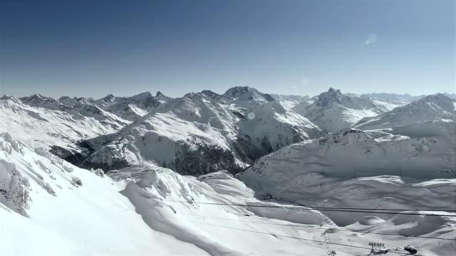 The Alps in St. Anton (Austria)