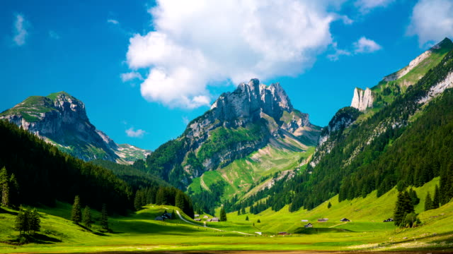 the alps - switzerland stock videos & royalty-free footage