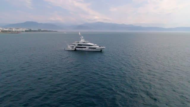 the amazing beauty of puerto vallarta mexico - yacht stock videos & royalty-free footage