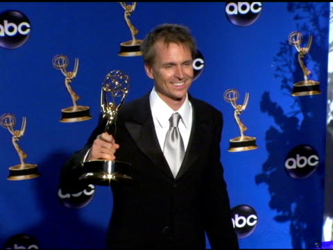 'The Amazing Race' winner of Outstanding Reality/Competition Program at the 2004 Primetime Emmy Awards press room at the Shrine Auditorium in Los...