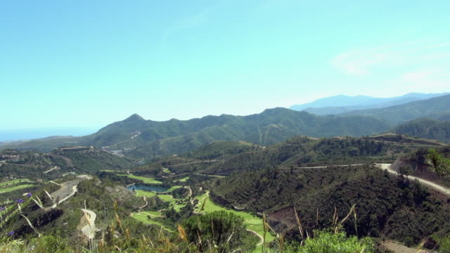 The Amazing View of the Mountains of Malaga Spain