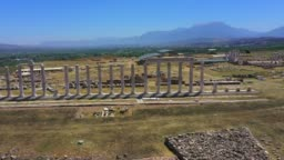 The ancient city Laodicea on the Lycus.