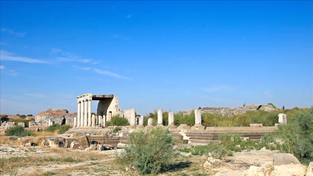 hd: the ancient city 'miletus' - miletus stock videos and b-roll footage