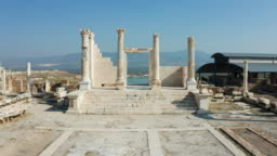 The ancient city of Laodicea. From SKY.