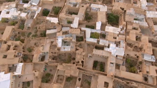 the ancient desert city of kashan, iran. - david ewing stock videos & royalty-free footage