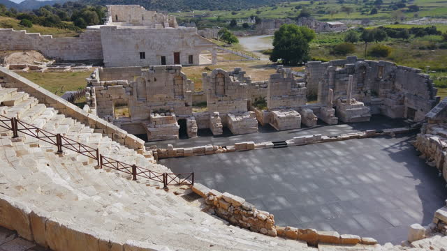 the ancient theater of patara - theatrical performance stock videos & royalty-free footage