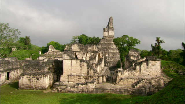 The Ancient Tikal ruins in Guatemala Available in HD.