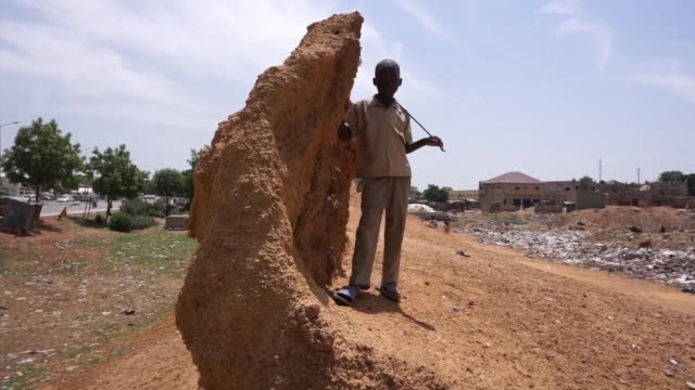 the ancient walls in northern nigeria's largest city of kano are fast disappearing as a result of population explosion and political patronage which... - population explosion stock-videos und b-roll-filmmaterial