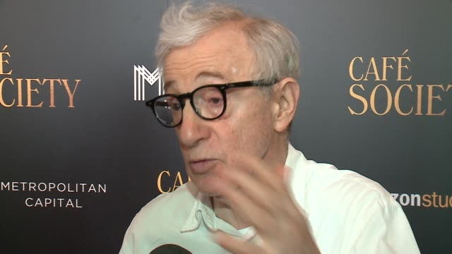 "wgn the ""annie hall"" star/writer/director was in chicago with wife of 20years soonyi at the chicago history museum where there was a special... - woody allen stock videos & royalty-free footage"