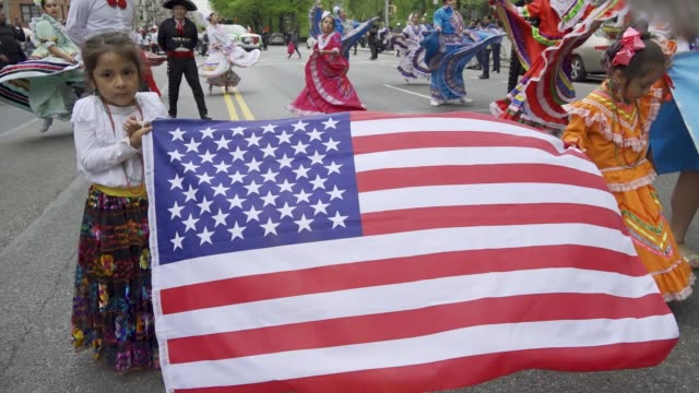 The annual Cinco de Mayo Parade via the Upper West Side in Manhattan Cinco de Mayo commemorates the Mexican army's unlikely victory over the French...