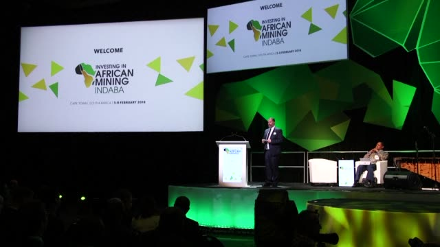 The annual Indaba conference billed as the world's largest mining investment conference opens in Cape Town