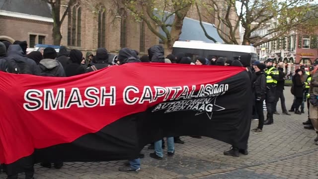 The Anti fascists and anarchist groups has been called for a demonstration on November 19 2016 in The Hague the reason these groups feel all the time...