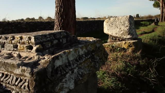 Il Appian way a Roma, o Via Appia Antica