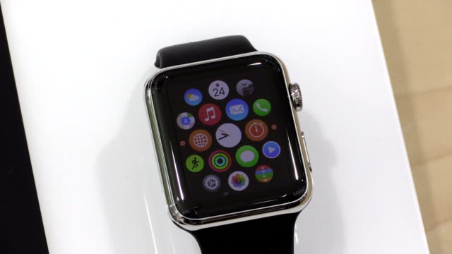The Apple Watch a new wristwatchlike device created by Apple Inc hit shelves in Japan Friday heralding an era of wearable technology that could...