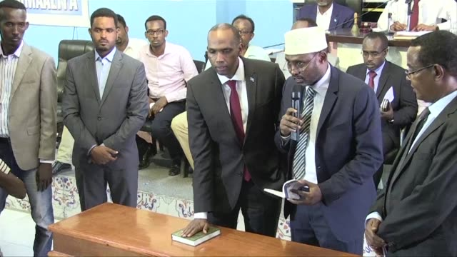 The appointment former aid worker and oil executive Hassan Ali Kheyre as prime minister is approved by Somalia's parliament in a vote of confidence