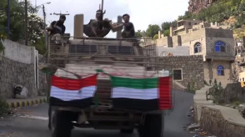 the arab coalition battling iran backed rebels in yemen has provided pro government forces in the besieged city of taez with dozens of armoured... - armoured vehicle stock videos & royalty-free footage
