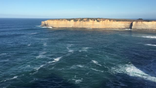the arch at port campbell national park great ocean road in victoria australia - port campbell national park stock videos & royalty-free footage