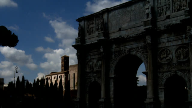 the arch of constantine - arch of constantine stock videos and b-roll footage