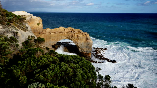 the arch, victoria australia - antarctic ocean stock videos and b-roll footage