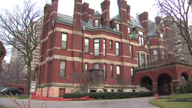 the archdiocese house of chicago's cardinal francis george chicago archbishop's residence on august 20 2013 in chicago illinois - cardinal clergy stock videos and b-roll footage