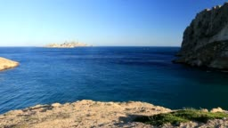 """The archipelago of Riou off the """"calanques"""".  France"""