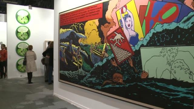 the arco international contemporary art fair opened in madrid on wednesday with a guest of honour colombia - heder bildbanksvideor och videomaterial från bakom kulisserna