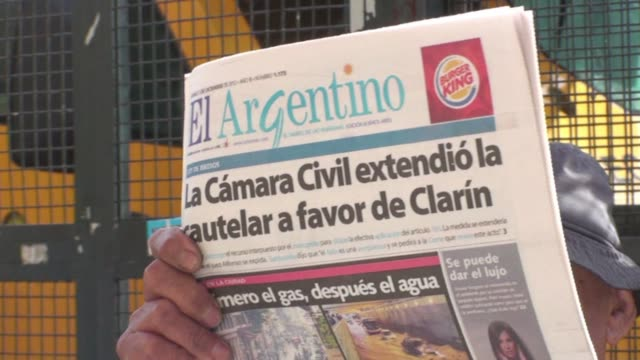 the argentine government filed an appeal with supreme court friday after a lower court granted the grupo clarin time to challenge an anti monopoly... - legal appeal stock videos & royalty-free footage