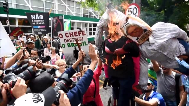the arrival of american philosopher and world referent on gender theory judith butler caused agitation wednesday on the streets of sao paulo with... - philosopher stock videos & royalty-free footage