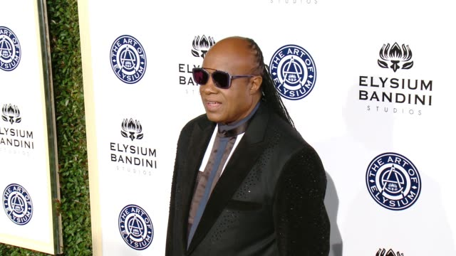 CLEAN The Art of Elysium presents Stevie Wonder's HEAVEN Celebrating the 10th Anniversary at Red Studios on January 7 2017 in Los Angeles California