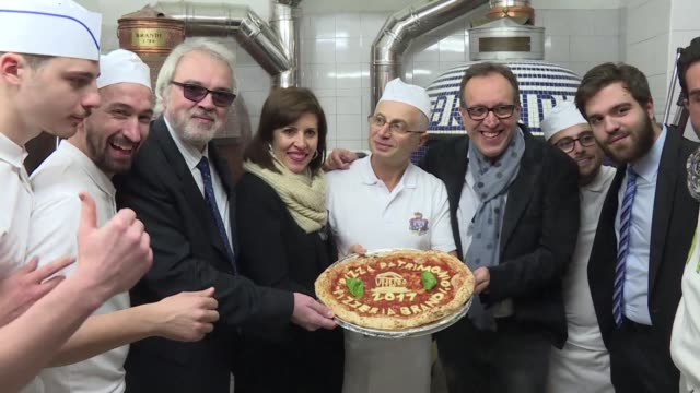 the art of naples dough twirling pizza makers joins unesco's list of intangible heritage - unesco stock videos & royalty-free footage