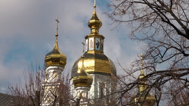 the assumption cathedral - kharkov stock videos & royalty-free footage