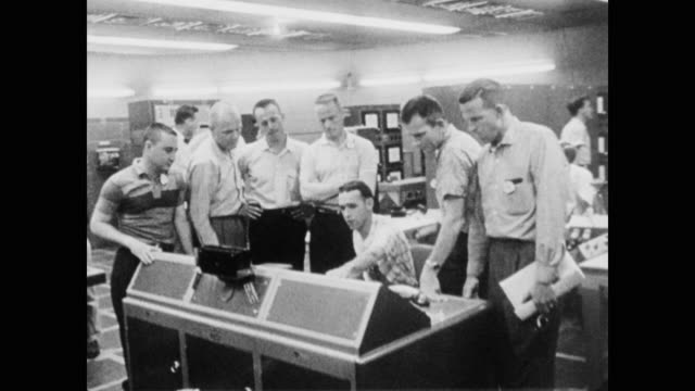 the astronauts are assigned individual areas of study in preparation for their mission - 1958 stock videos & royalty-free footage