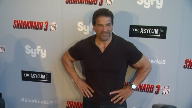 CLEAN The Asylum's 'Sharknado 3 Oh Hell No' Los Angeles Premiere at iPic Theaters on July 22 2015 in Los Angeles California