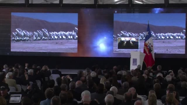 the atacama large millimetre array the worlds biggest astronomical project was inaugurated on wednesday in llano chajnantor in the atacama desert in... - atacama large millimeter array stock videos and b-roll footage