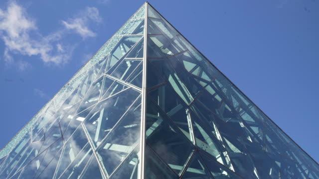 vidéos et rushes de the atrium at federation square - cour intérieure