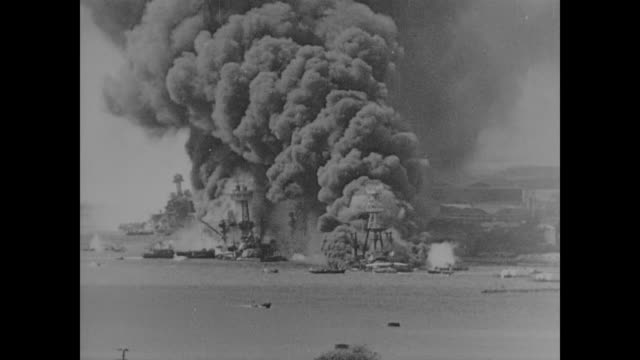 wwii the attack on pearl harbor brings america into world war ii proper yet despite help from the american dutch and british generalissimo chiang... - chiang kai shek stock videos and b-roll footage