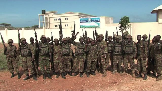 stockvideo's en b-roll-footage met the attack which killed at least 68 people in a shopping mall in kenya was claimed by the somali islamist shebab insurgents who said they were... - hoorn van afrika