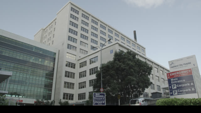 the auckland city hospital  - building exterior stock videos & royalty-free footage