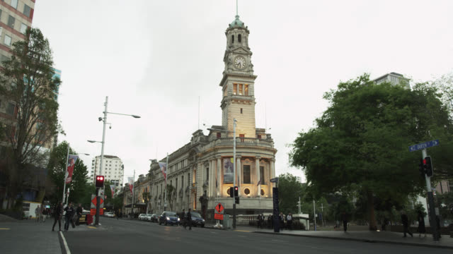 The Auckland Town Hall early Evening