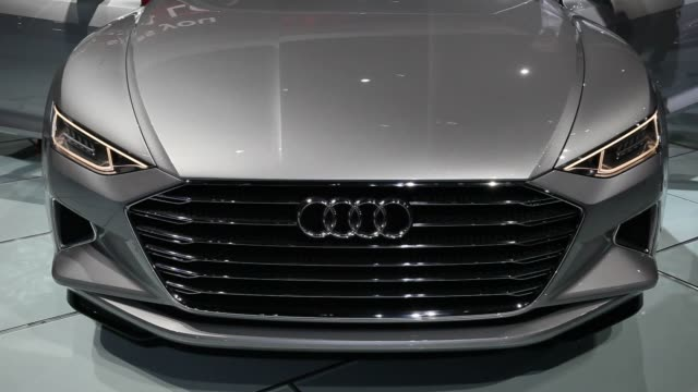 The Audi AG Prologue concept vehicle is unveiled during the Los Angeles Auto Show in Los Angeles California US Audi AG unveiled a prototype of a...
