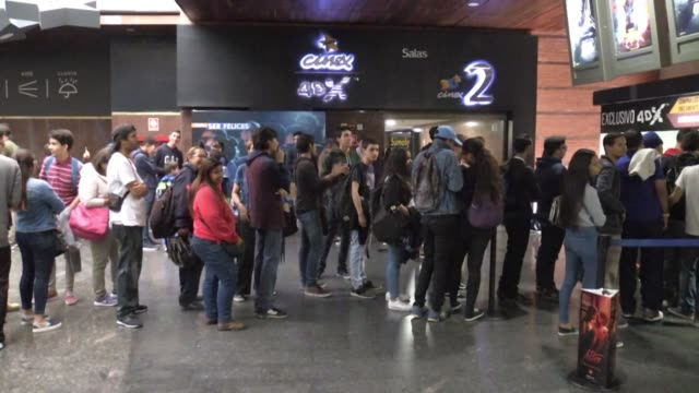 Endgame movie premieres at seven in the morning in Caracas Venezuela to work around blackout and safety issues