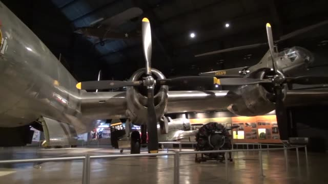 The B29 on display Bockscar dropped the Fat Man atomic bomb on Nagasaki on Aug 9 three days after the atomic attack against Hiroshima Bockscar was...