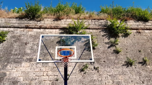 the ball hits the basket - record breaking stock videos & royalty-free footage