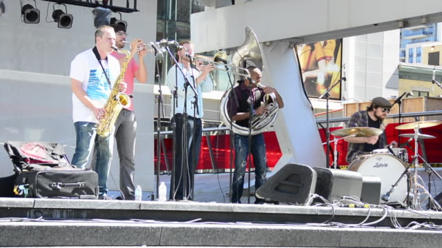 The band is inspired by the New Orleans brass band tradition The Heavyweights are rooted in the legacy of jazz They are offering a free and openair...