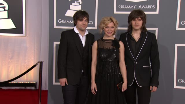 The Band Perry at 54th Annual GRAMMY Awards Arrivals on 2/12/12 in Los Angeles CA