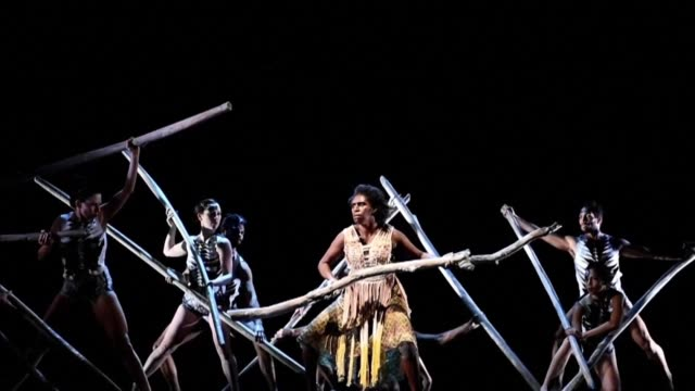the bangarra dance theatre one of australias leading performing arts companies has been showcasing aboriginal culture for some 25 years from which it... - native american ethnicity stock videos & royalty-free footage