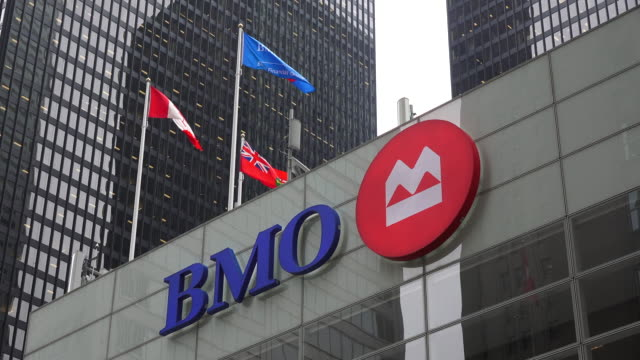 banque de montréal operating as bmo financial group and commonly shortened to bmo is one of the big five banks in canada it is the fourthlargest bank... - bank stock videos & royalty-free footage